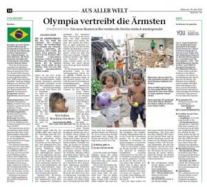 Olympia vertreibt die Ärmsten