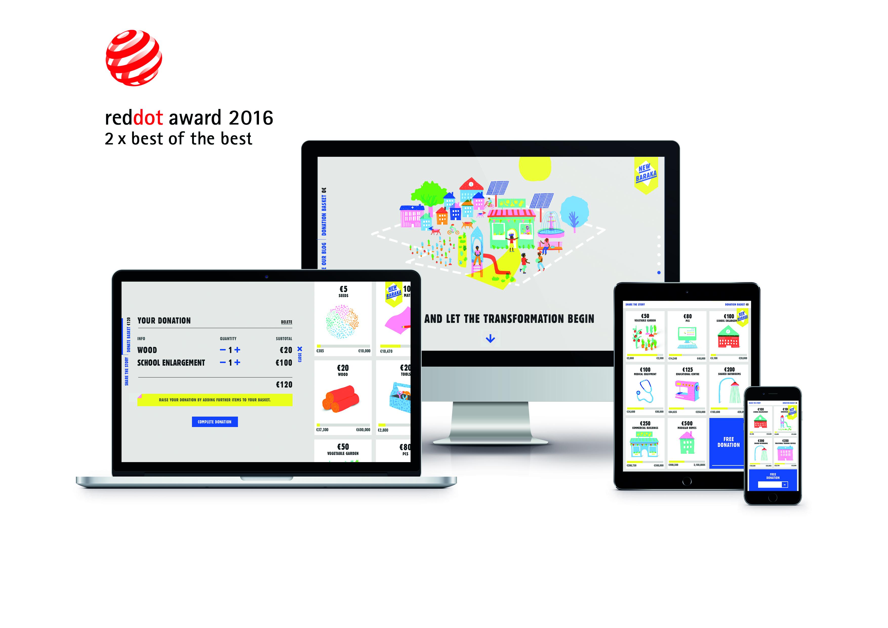 Red Dot Award für Baraka
