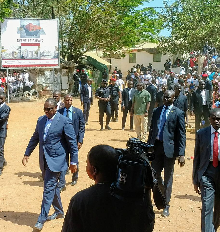 Präsident in Baraka