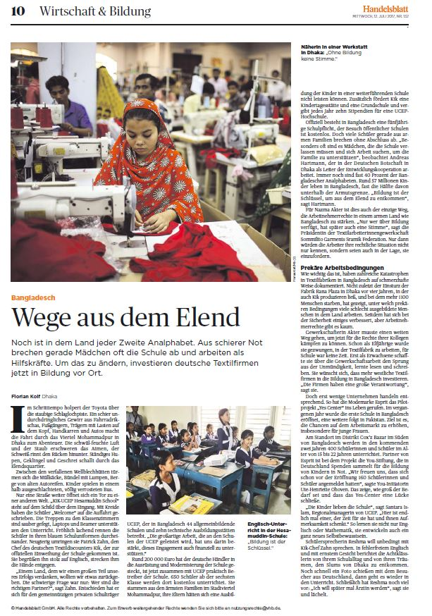 Handelsblatt YES Center